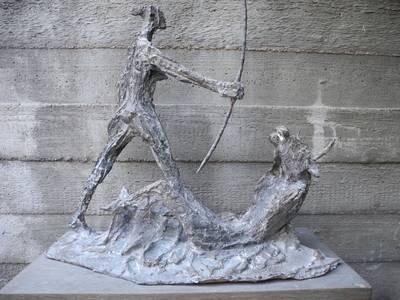 Aktaion, Bronze, 2012, H 53 cm