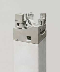 F. Grieshaber, Metropolis II, Beton, 2012, H 30 cm