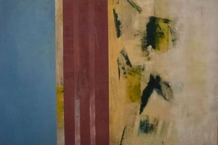 Gerd Winter, Blick in die Zukunft, MT/Lwd., 100x150 cm