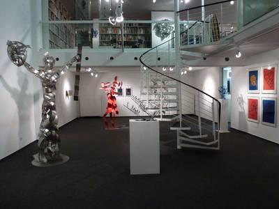Blick in die Nele-Ausstellung