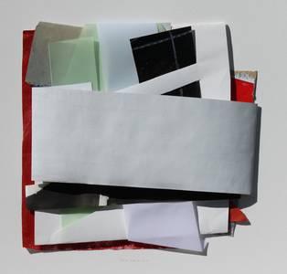 Gloria Brand, o.T., Papiercollage