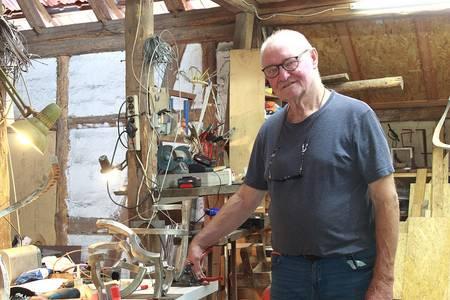 Matthias Will in seinem Atelier, Foto: Deborah Baer
