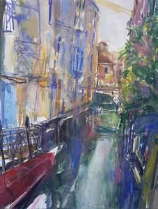 Mannella, Venedig San Polo, Aquarell