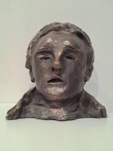 Alfred Hrdlicka, Büchner-Porträt, Bronze