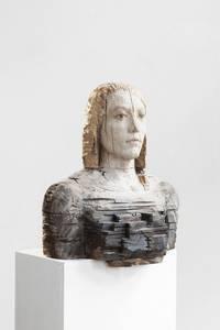 Laura Eckert, NN17, Eiche/Eichenparkett/Pigment, 2016
