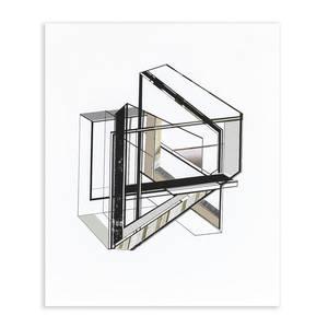 Vertex_sg, Siebdruck, verschiedene Papiere, Digitalprint, 2014, 60x50 cm