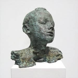 Franziska Schwarzbach, Porträt Paul, Bronze, 1976/92
