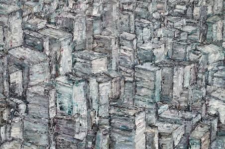 New York, Öl/Lwd., 2018, 115x150 cm