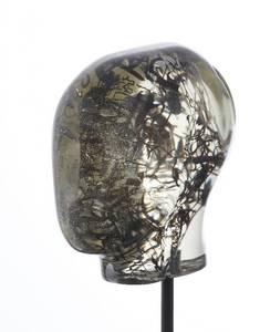 Kopf, Serie Spektrum, Epoxidharz, 2006, Höhe: 36cm