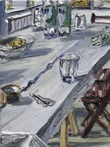 Atelierstilleben, 2013, 40x30 cm