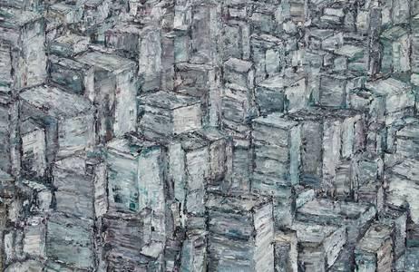 New York, Öl/Lwd., 2018, 100x150 cm