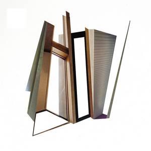 C20/12, Collage, verschiedene Papiere, 2020, 40x40 cm