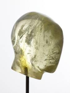 Kopf, Serie Spektrum, Epoxidharz, 2008, Höhe: 36cm