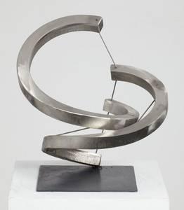 Raumspirale, Edelstahl, 2016
