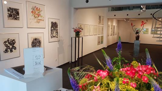Blick in die Helmut Lortz-Ausstellung