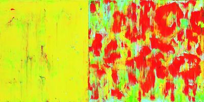 Ohne Titel, D 11, Acryl/Lwd., 2012, 70x140 cm