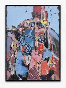 H. Kürschner, Haufen. Öl/Lwd., 2010/13, 140x100 cm