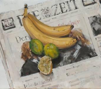 Auf Zeit, Öl/Lwd., 2015, 35x40 cm