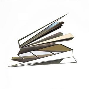 C20/10, Collage, verschiedene Papiere, 2020, 70x70 cm