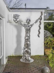 Lady Lovelace, Edelstahl, 2015, H 275 cm