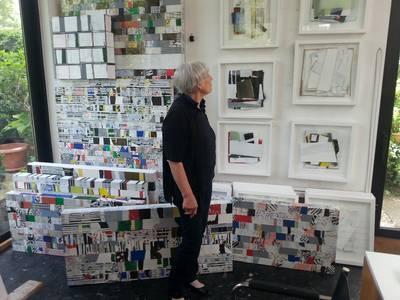 Gloria Brand im Atelier
