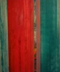 Gerd Winter, Sprachlos, MT/Lwd., o.J., 120x100 cm