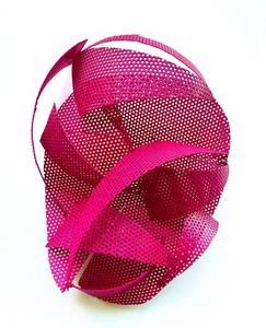 E. R. Nele, Maske, Aluminium, rosa, 2016