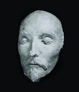 Totenmaske Shakespeare, Gipsabguss