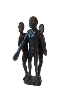 Titus Lerner, Häutung, Bronze