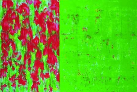 o.T., 01, Acryl/Lwd., 2012, 140x210 cm