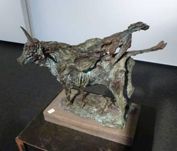 Europa auf dem Stier, Bronze, 2010, H 36 cm