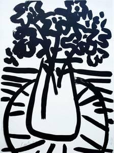 Blumen, Lithografie, 1958