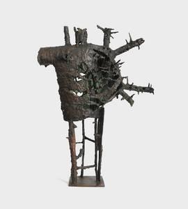 Kriegstreiber, Kupfer geschmiedet und geschweißt, 1958
