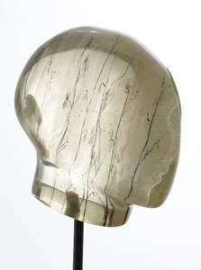 Kopf, Serie Spektrum, Epoxidharz, 2009, Höhe: 36cm