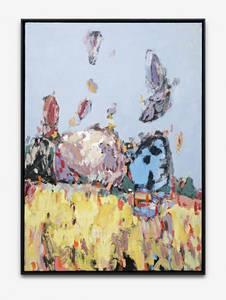 H. Kürschner, Halde, Öl/Lwd., 2010, 140x100 cm
