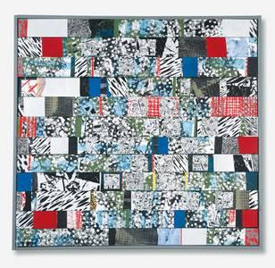 Gloria Brand, Sommer-Winterbild, Stapel-Collage