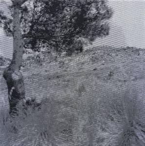 Dazwischen (1272), Jacquardgewebe, 2011, 31x31 cm