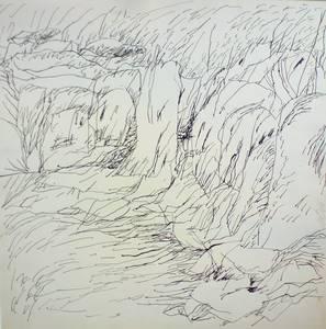 Mirabel, Tusche, um 1966