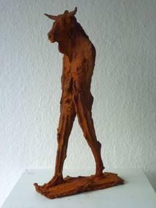 Minotaurus, Eisen, 2015, H 36,5 cm