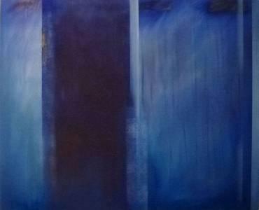 Gerd Winter, Novalis, MT/Lwd., 2017, 115x140 cm