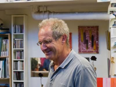Gerd Winter im Atelier