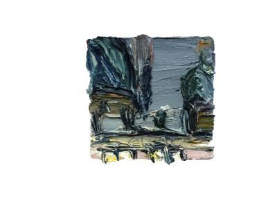 Christopher Lehmpfuhl, Öl/Leinwand