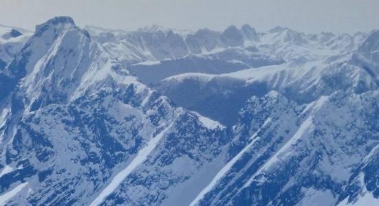 Blaue Berge, 85x160 cm, 2015