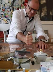 Alfonso Mannella im Atelier