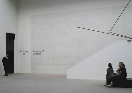 Norbert Kottmann, Warten im Foyer (Museum für Kunst und Kultur Münster/Westfalen), Fineart Print/Bütten, 2018