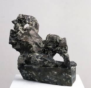 Sylvia Hagen, Quelle I, Bronze, 2011
