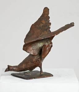 Gotthelf Schlotter, Auerhahn, Bronze