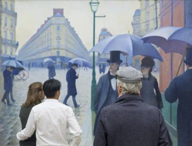 Stefan Draschan, Gustave Caillebotte, Alte Nationalgalerie Berlin, Fineart Print