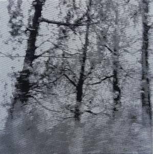 Dazwischen (1273), Jacquardgewebe, 2011, 31x31 cm