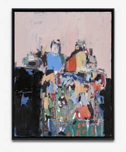 H. Kürschner, Sortierer, Öl/Lwd., 2001/04, 90x70 cm